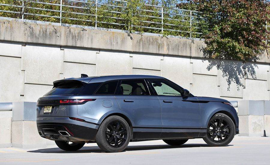 2018 range rover velar in depth model review car and for Interieur range rover velar
