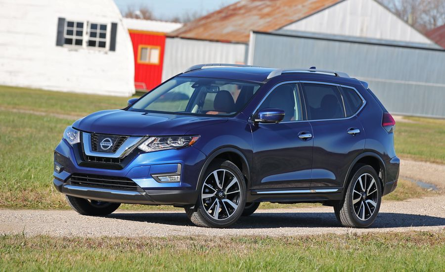 2018 nissan rogue exterior review car and driver. Black Bedroom Furniture Sets. Home Design Ideas