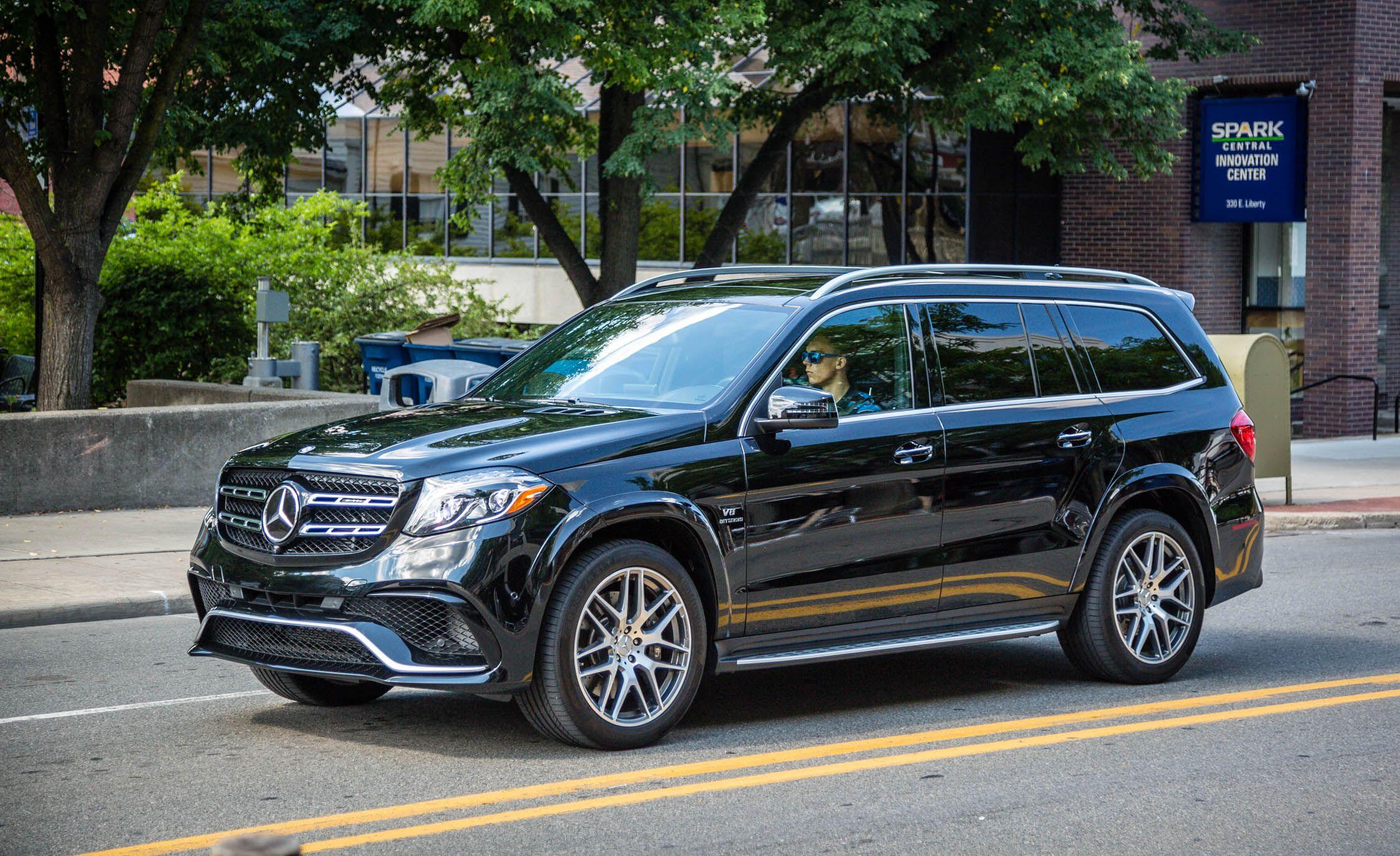 2017 mercedes benz gls class first drive review car and driver