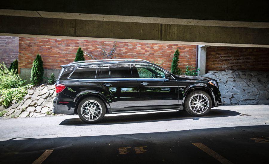 2017 mercedes amg gls63 interior review car and driver. Black Bedroom Furniture Sets. Home Design Ideas