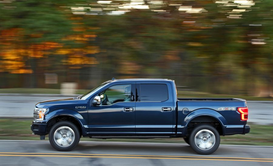 2018 ford f 150 fuel economy review car and driver. Black Bedroom Furniture Sets. Home Design Ideas