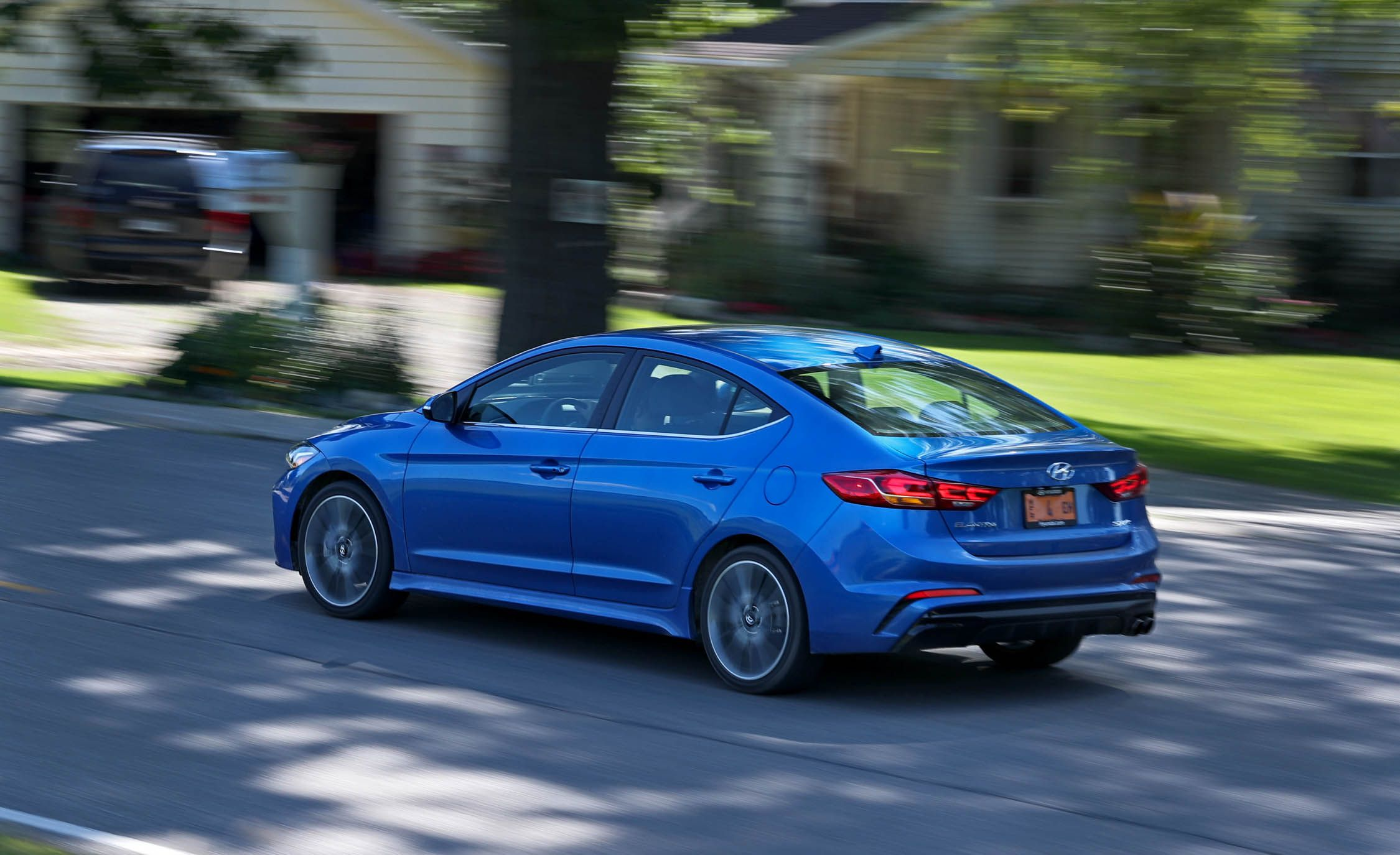 2018 Hyundai Elantra Sport Safety And Driver Assistance Review Car And Driver