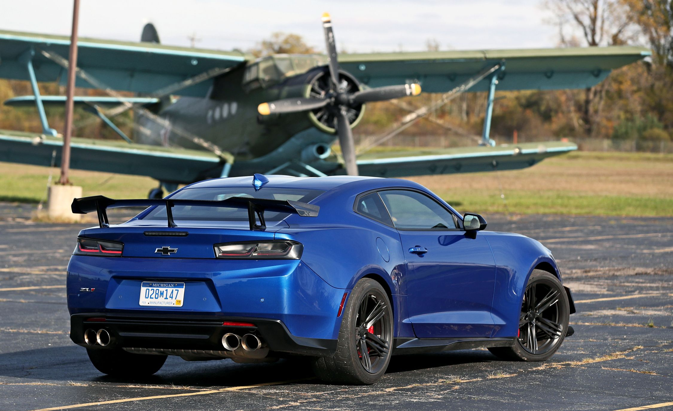 2018 Chevrolet Camaro ZL1 | Cargo Space and Storage Review ...
