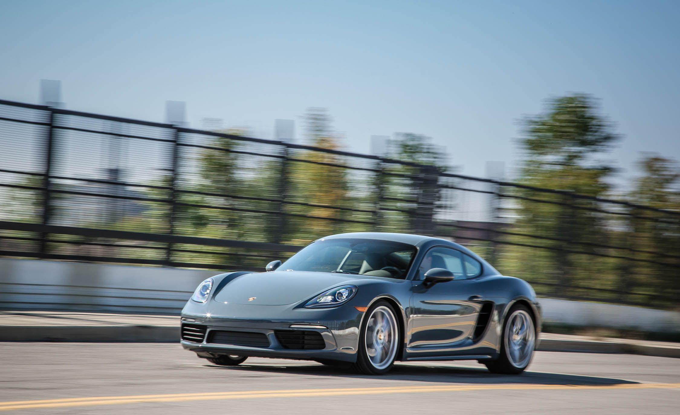 2017 Porsche 718 Cayman S Pdk Test Review Car And Driver