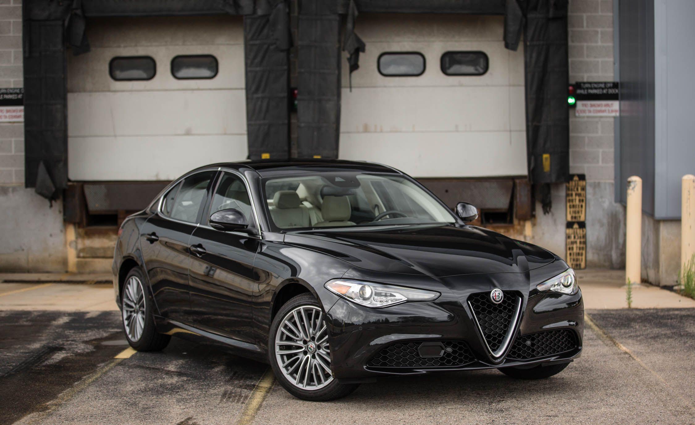 Alpha Fuel Reviews >> 2018 Alfa Romeo Giulia | Exterior Review | Car and Driver