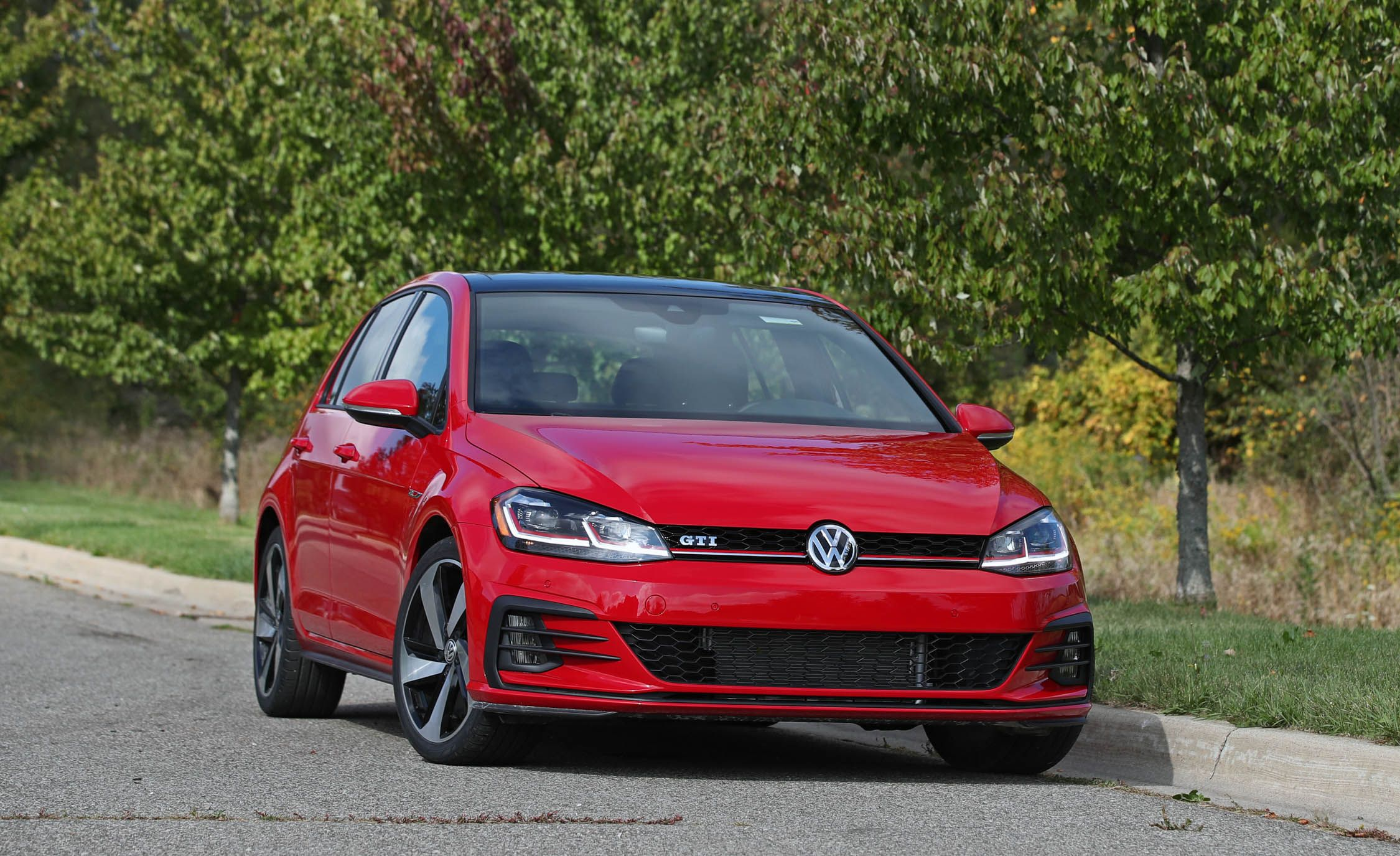 2018 Volkswagen Golf R Manual Test Review Car And Driver