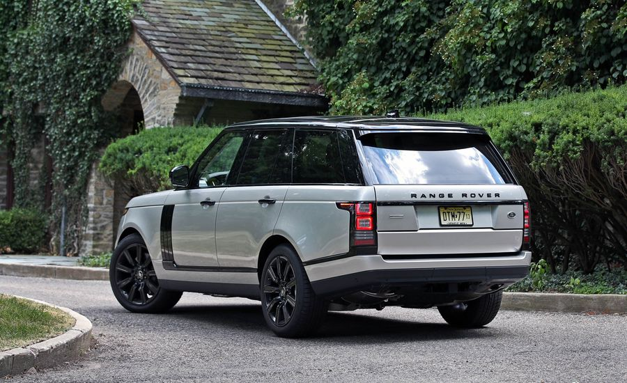 2017 land rover range rover cargo space and storage. Black Bedroom Furniture Sets. Home Design Ideas