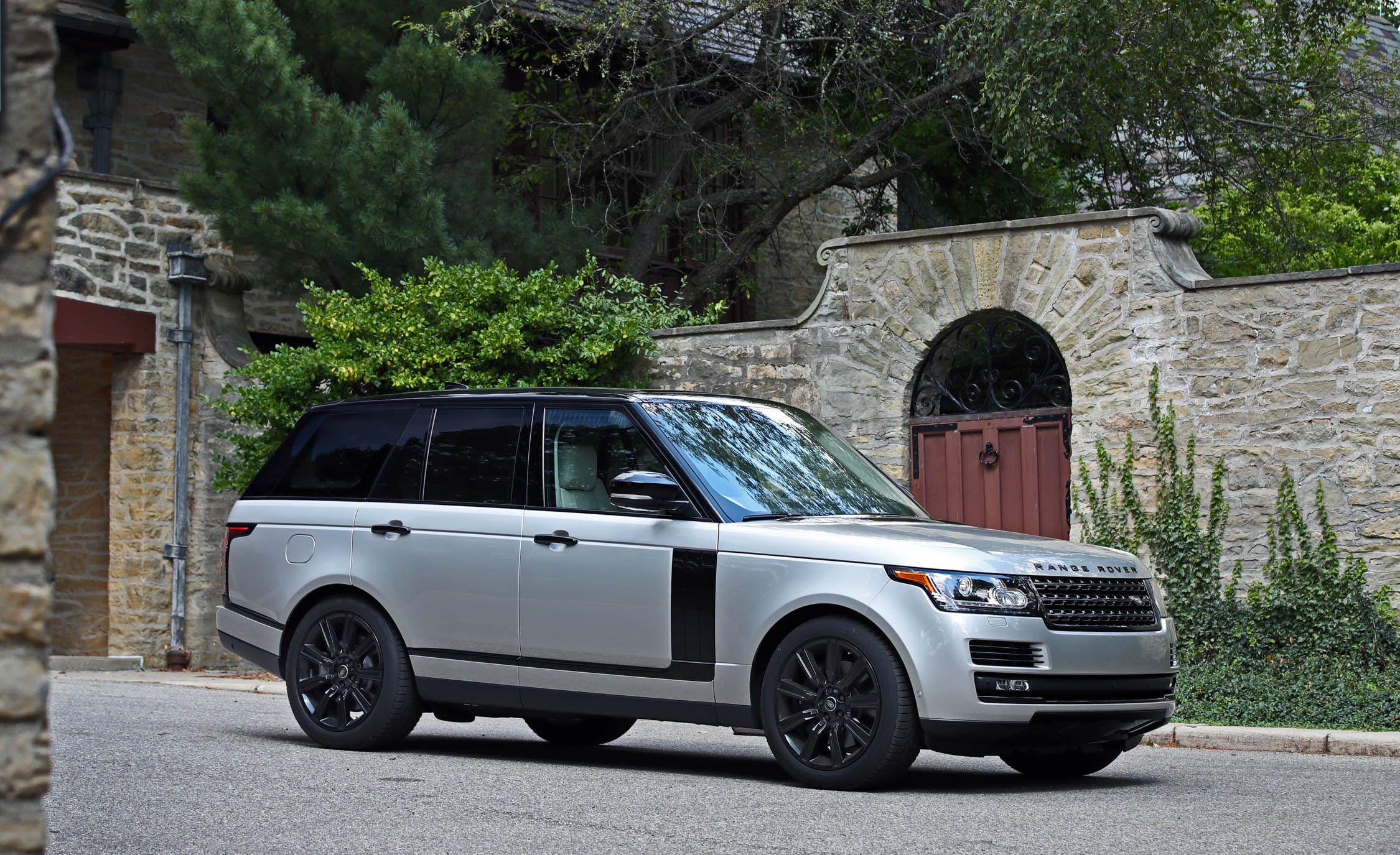 Land Rover Range Rover 2017 Interior >> 2017 Land Rover Range Rover Cargo Space And Storage Review Car