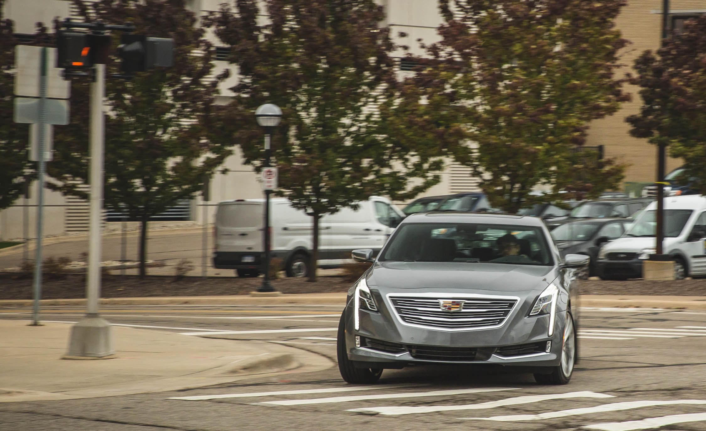 2016 Cadillac Ct6 30t Awd Test Review Car And Driver White Cts6