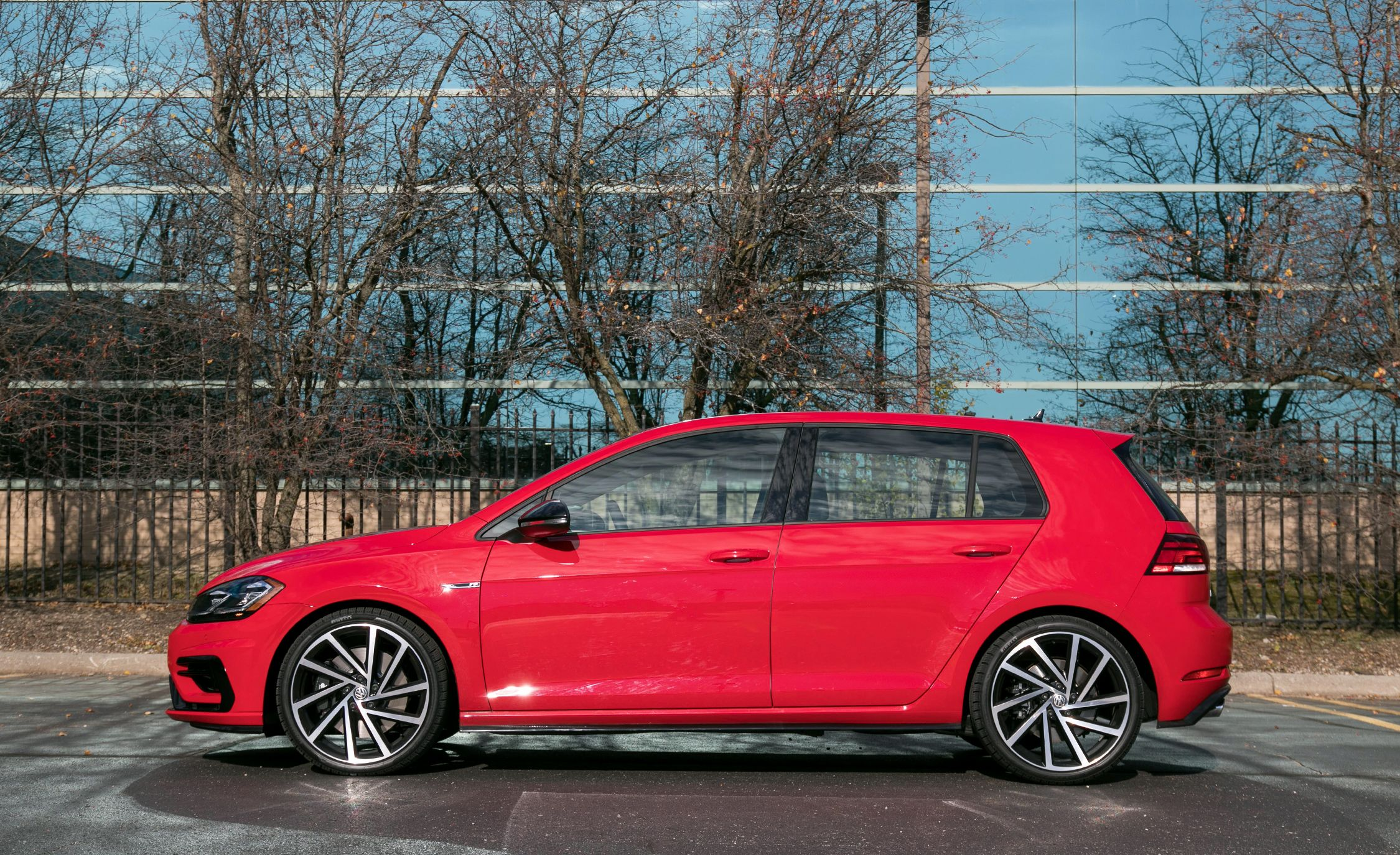 2018 Volkswagen Golf R Interior Review Car And Driver