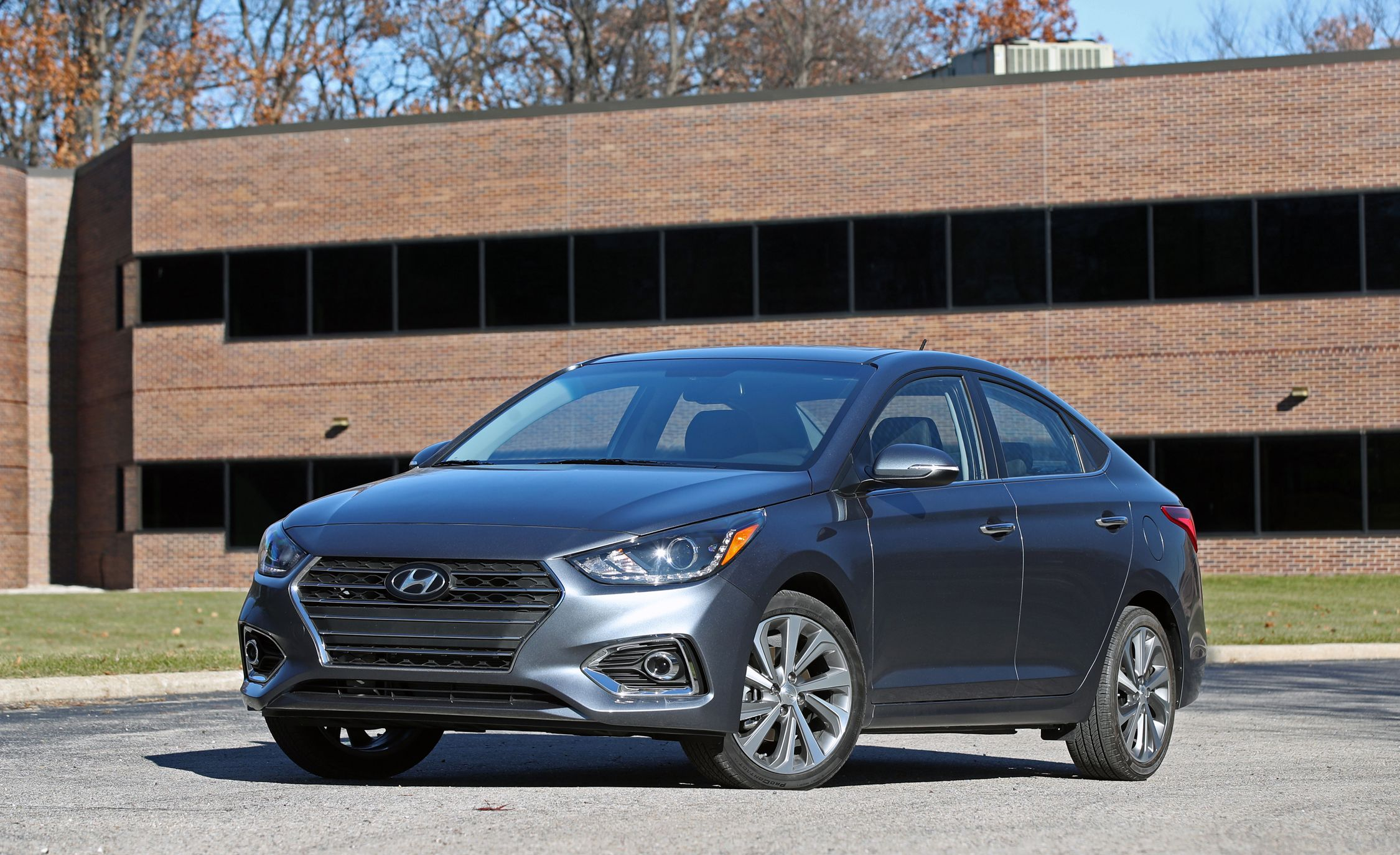 2018 Hyundai Accent Exterior Review Car And Driver
