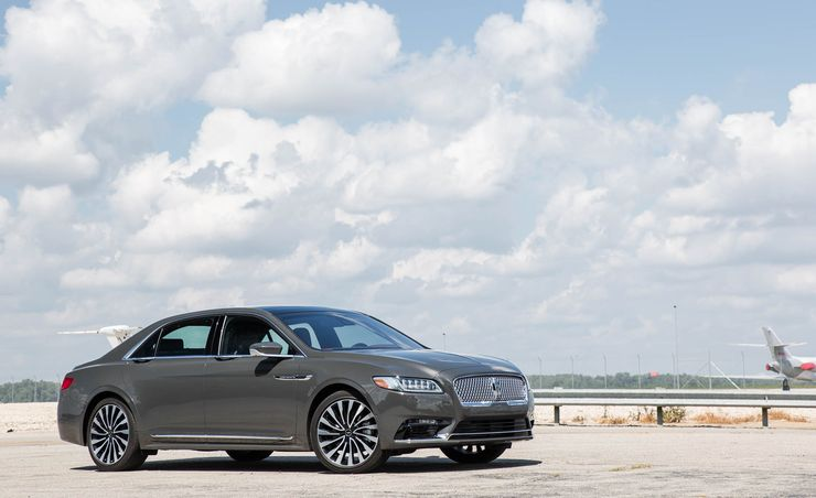 lincoln continental reviews lincoln continental price photos and specs car and driver. Black Bedroom Furniture Sets. Home Design Ideas