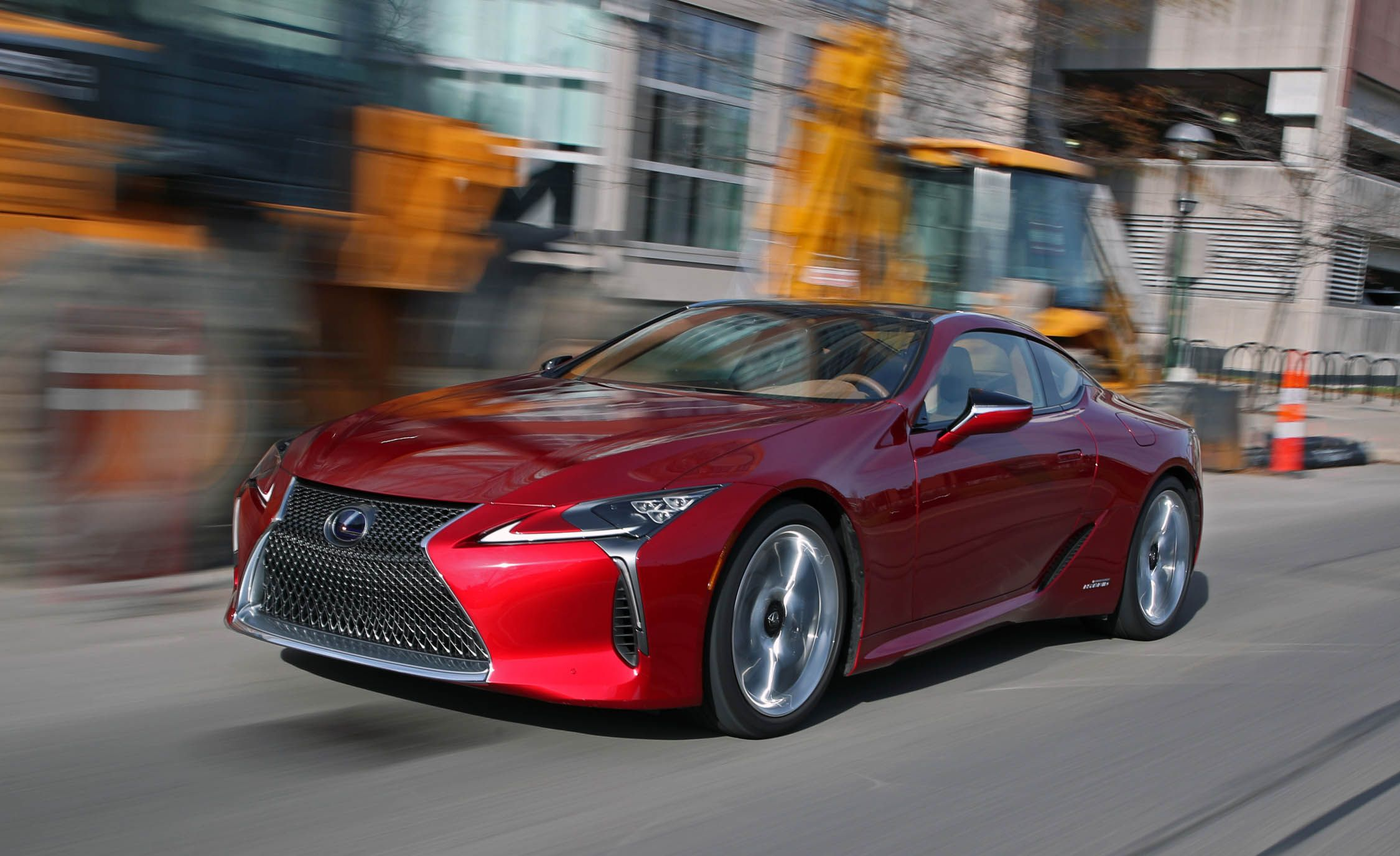 2018 Lexus LC500h Hybrid Test Review