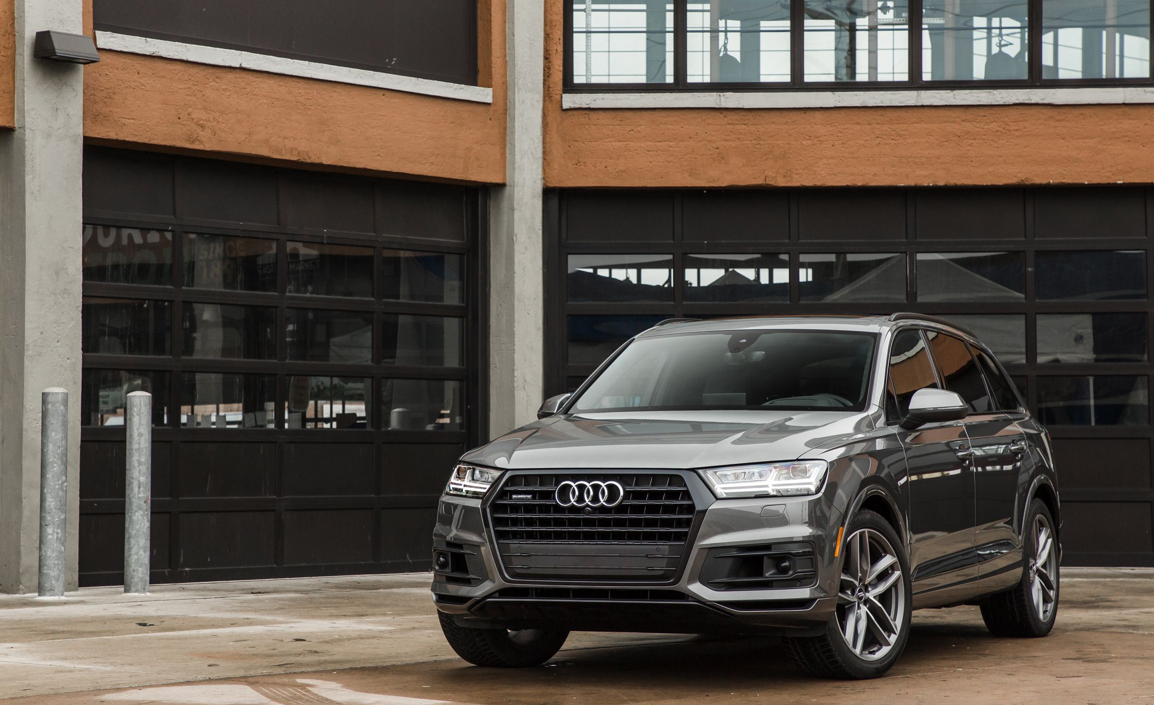 Audi Q Performance And Driving Impressions Review Car And - 2018 audi q7
