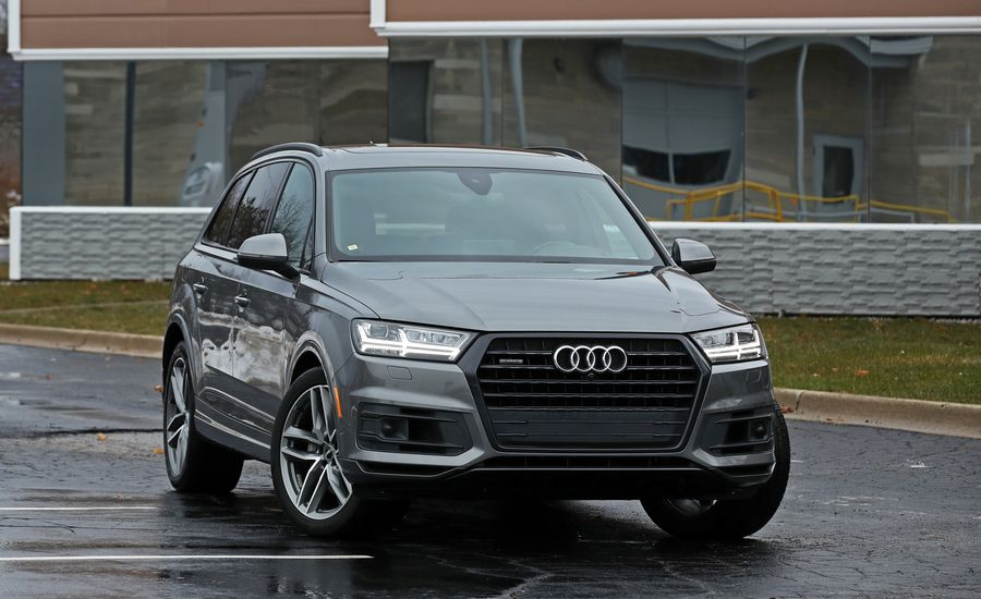 Audi Q MMI Infotainment Review Car And Driver - Audi q7 2018 msrp