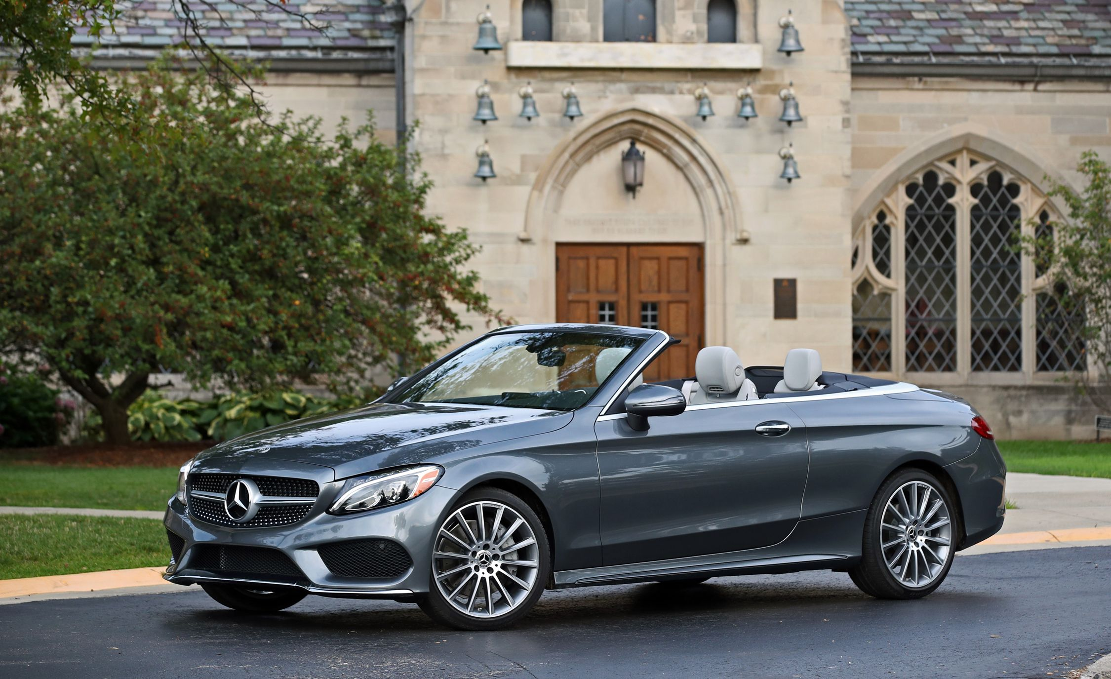 2018 Mercedes Benz C Class Coupe And Cabriolet Interior Review