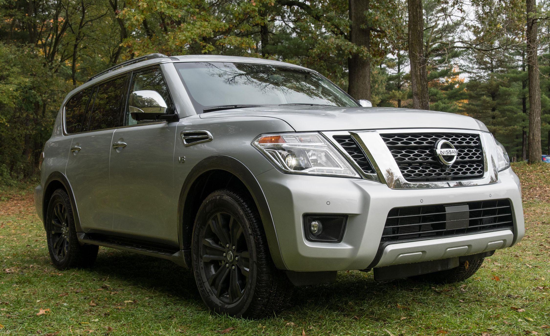 2018 Nissan Armada Fuel Economy Review Car And Driver