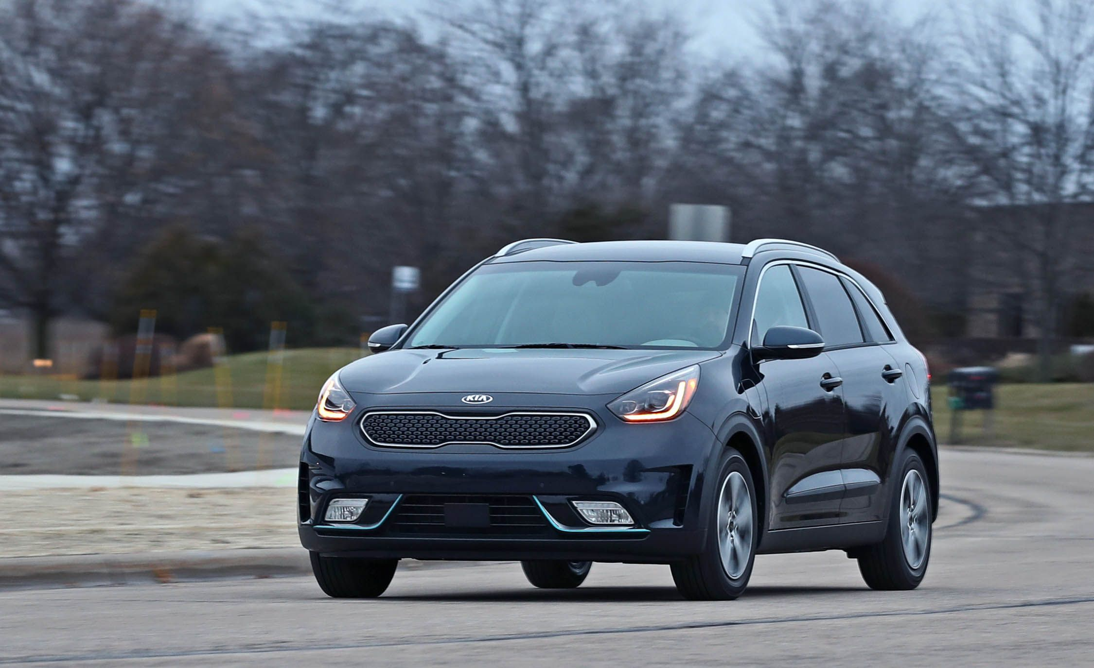2018 kia niro uvo infotainment review car and driver. Black Bedroom Furniture Sets. Home Design Ideas