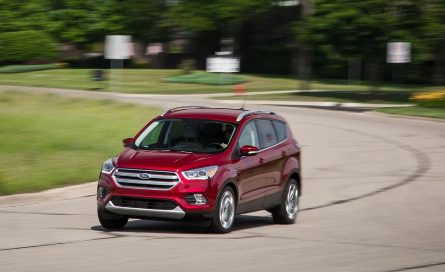 2018 ford escape performance and driving impressions review car and driver. Black Bedroom Furniture Sets. Home Design Ideas