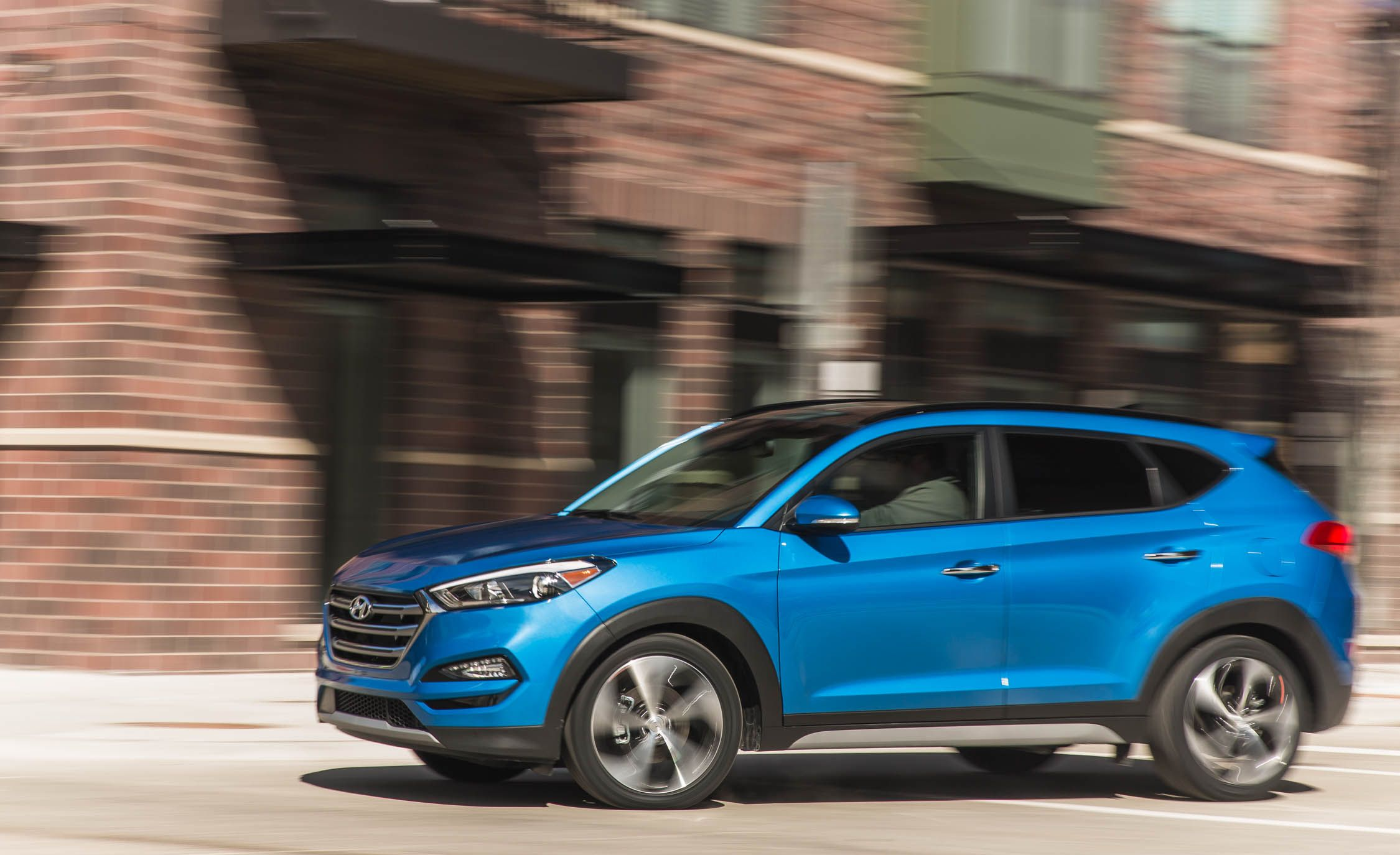 2018 Hyundai Tucson Performance And Driving Impressions Review Car Driver