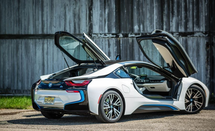 2019 BMW i8 | Interior and Passenger Space Review | Car and Driver