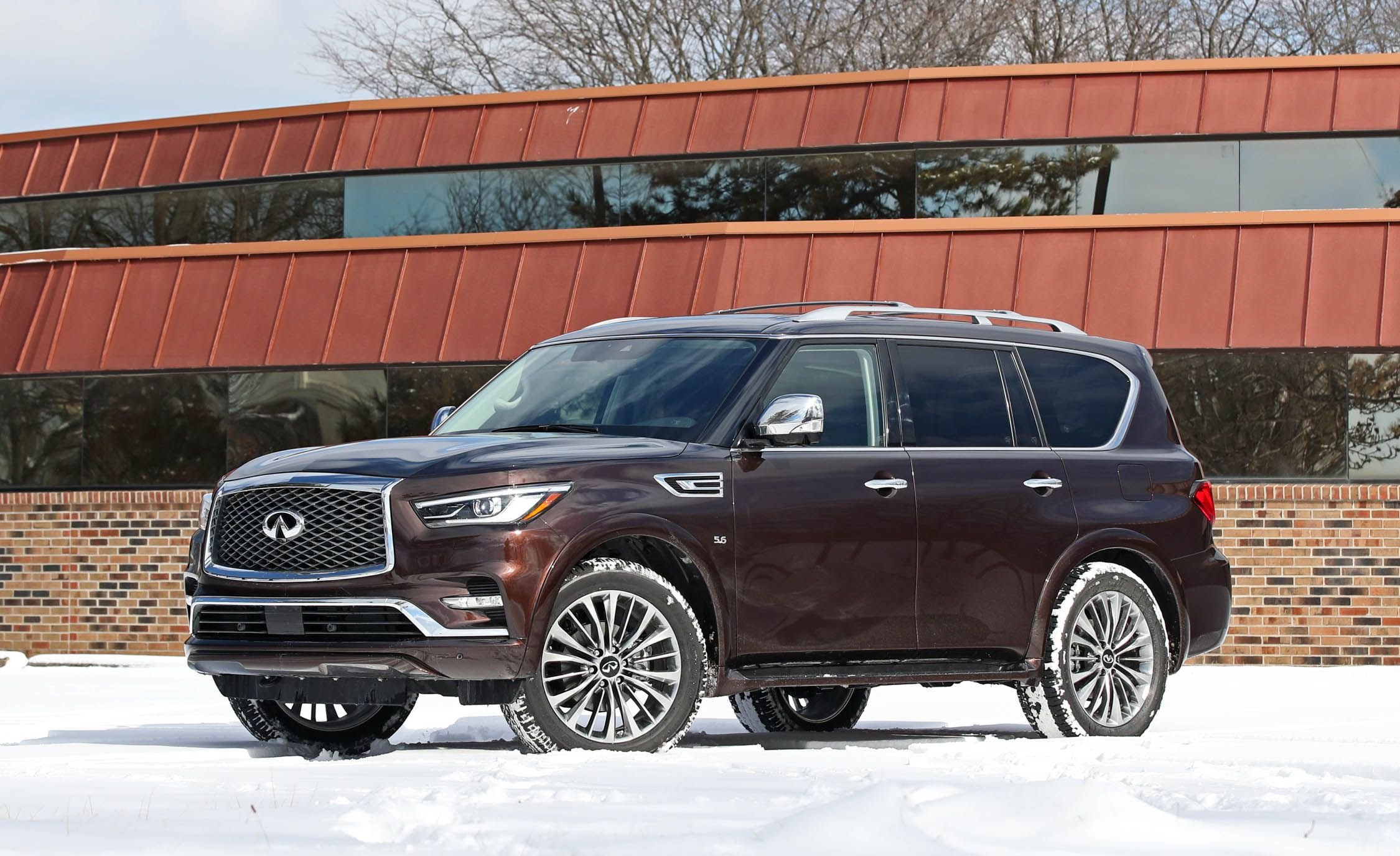 2018 Infiniti QX80 | Safety and Driver Assistance Review | Car and Driver