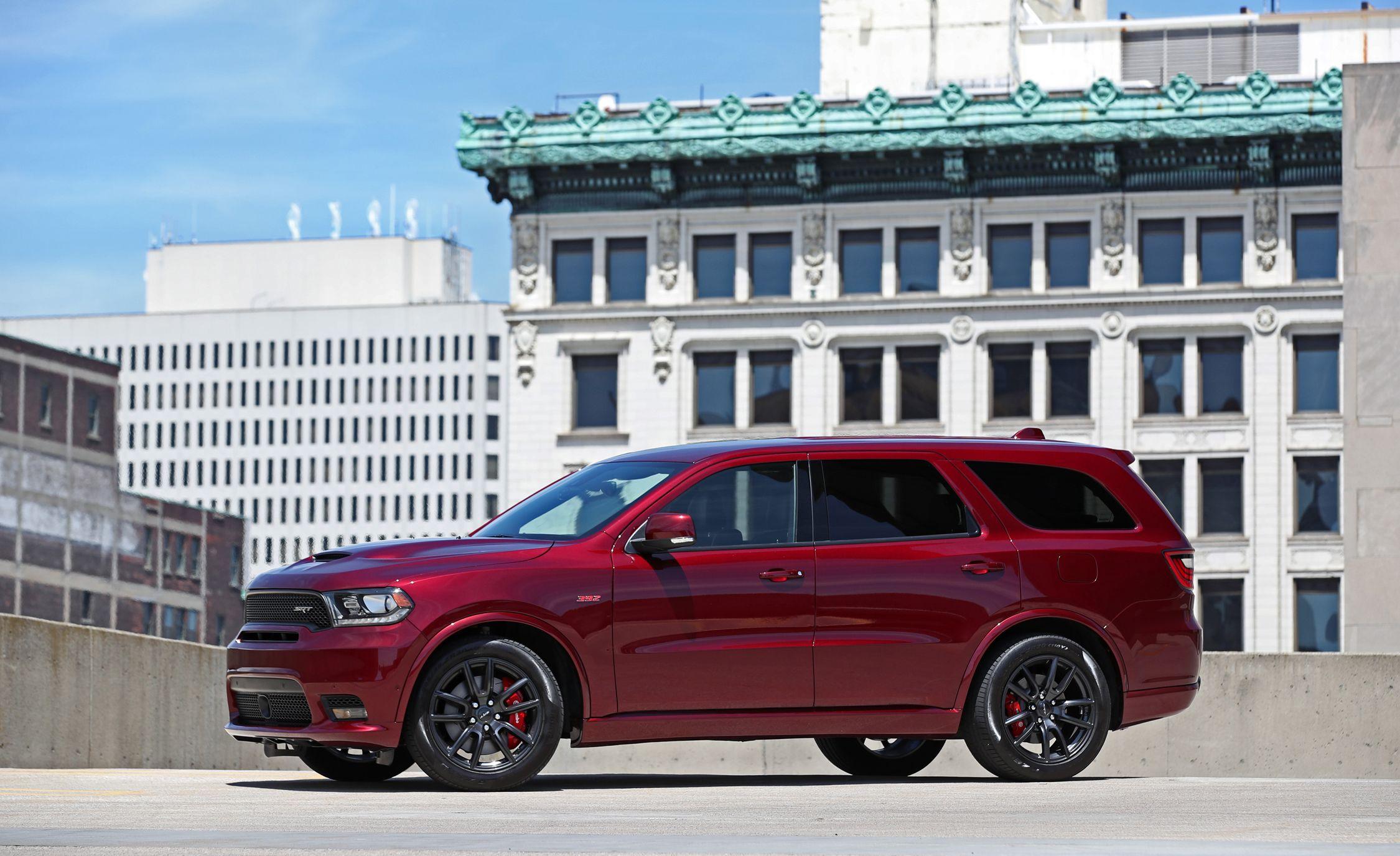 2018 Dodge Durango Srt Interior And Penger E Review Car Driver