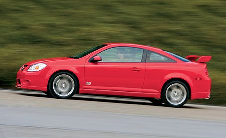 Eighth Place: 2007 Chevrolet Cobalt SS Supercharged