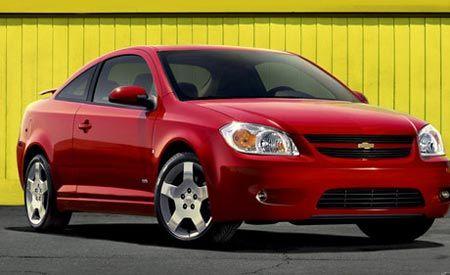 2007 Chevrolet Cobalt SS and Pontiac G5 GT