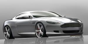 Aston Martin DB9 LM and V-8 Vantage N400
