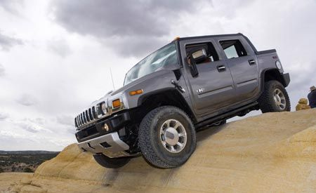 2008 Hummer H2 SUV and H2 SUT