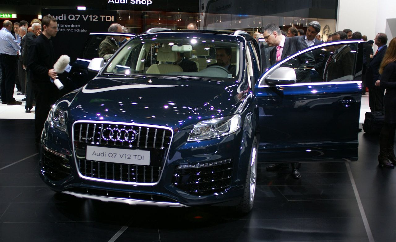 Audi Q V TDI Diesel Not For US - Audi q7 v12
