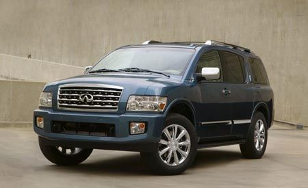 Infiniti Qx56 Nissan Armada To Go Separate Ways