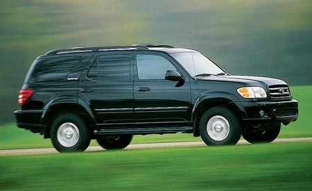 Toyota Sequoia Limited V-8 4WD