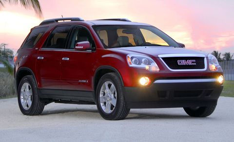 2007 Gmc Acadia Slt Awd 4dr Features And Specs