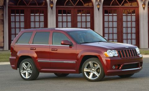 2008 Jeep Grand Cherokee Srt Srt 8 4wd 4dr Features And Specs