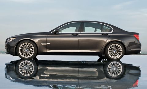 2009 Bmw 7 Series 750li 4dr Sdn Features And Specs