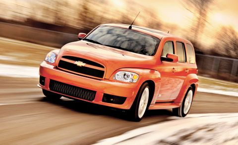 2008 Chevrolet Hhr Ss Fwd 4dr Features And Specs