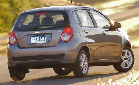 2009 Chevrolet Aveo Lt W 2lt 5dr Hb Features And Specs