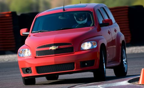 2009 Chevrolet Hhr Ss Fwd 4dr Panel Features And Specs