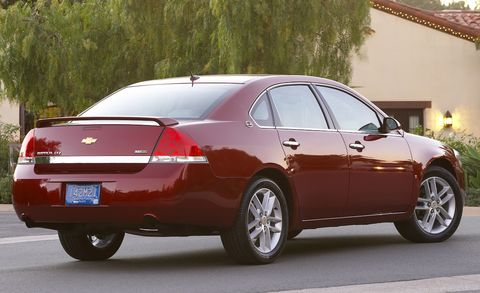 2009 Chevrolet Impala Ltz 4dr Sdn Features And Specs