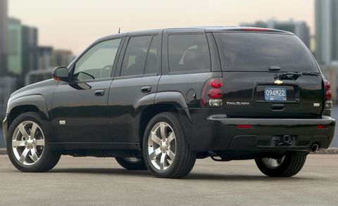 2009 Chevrolet Trailblazer Ss 4wd 4dr Features And Specs