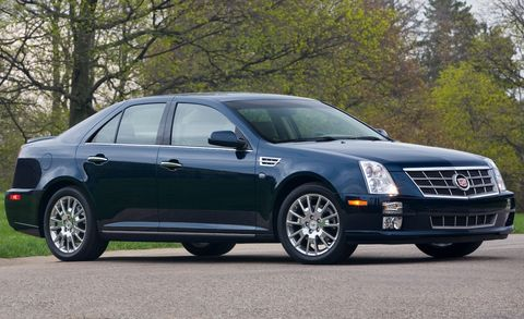 2010 Cadillac Sts Awd W 1sg 4dr Sdn V8 Features And Specs