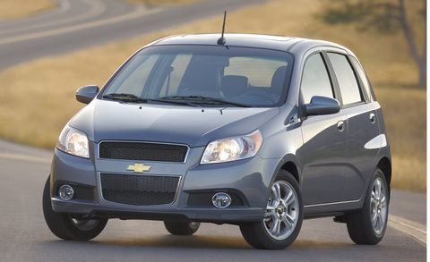 2010 Chevrolet Aveo Lt W 2lt 5dr Hb Features And Specs