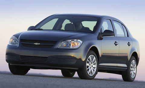 Chevrolet Cobalt Features And Specs Car And Driver