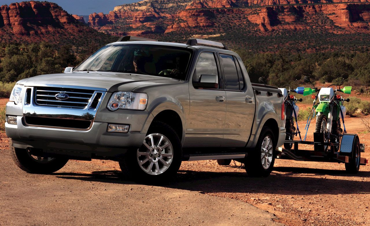 ford sport trac 2007 reviews