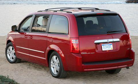 2010 Dodge Grand Caravan Crew 4dr Wgn Features And Specs