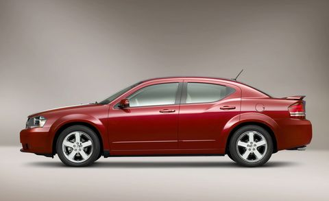 2010 Dodge Avenger Express 4dr Sdn Features And Specs