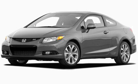 2012 Honda Civic Cpe Si 2dr Man W Summer Tires Navi Features