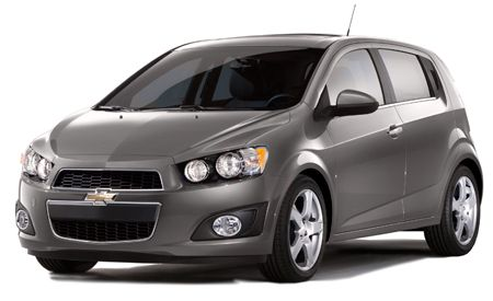 2012 Chevrolet Sonic Features And Specs Car And Driver